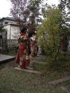 きもの蝶屋CM撮影